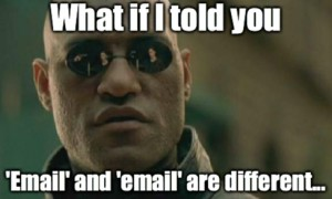 Google Analytics Channel Grouping Email vs email