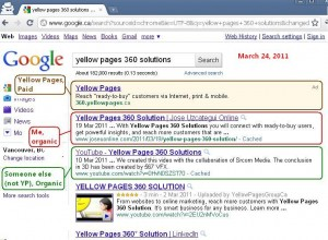 Followup Report: YellowPages 360 Solution Keyword Experiment